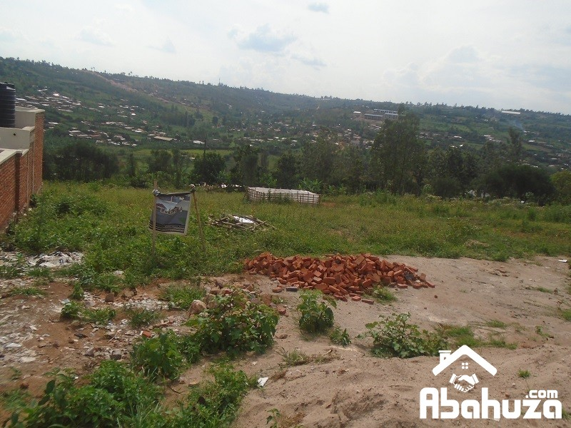 A PLOT WITH CONSTRUCTION PERMIT FOR SALE AT KAGARAMA