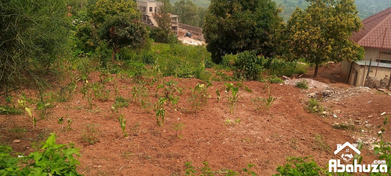 A RESIDENTIAL PLOT FOR SALE IN KIGALI AT KAREMBURE SITE