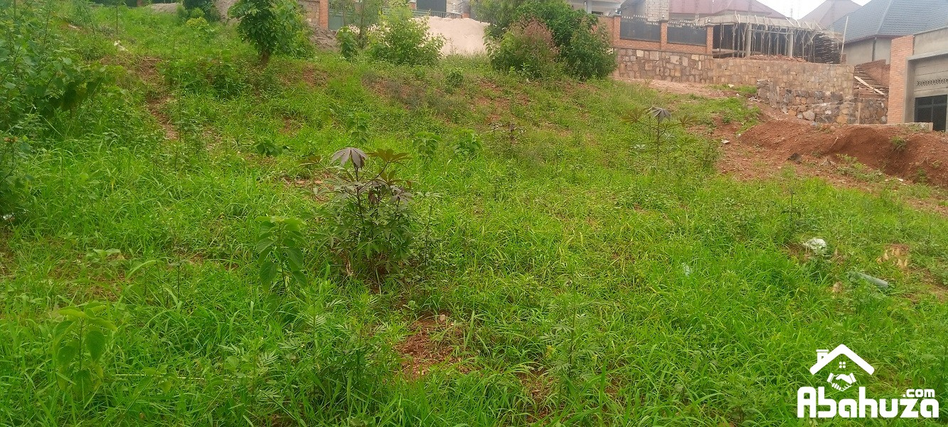 A RESIDENTIAL PLOT FOR SALE IN KIGALI AT KAREMBURE