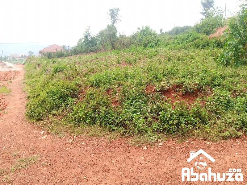 A PLOT FOR SALE IN KIGALI AT NYANZA-BISAMBU SITE