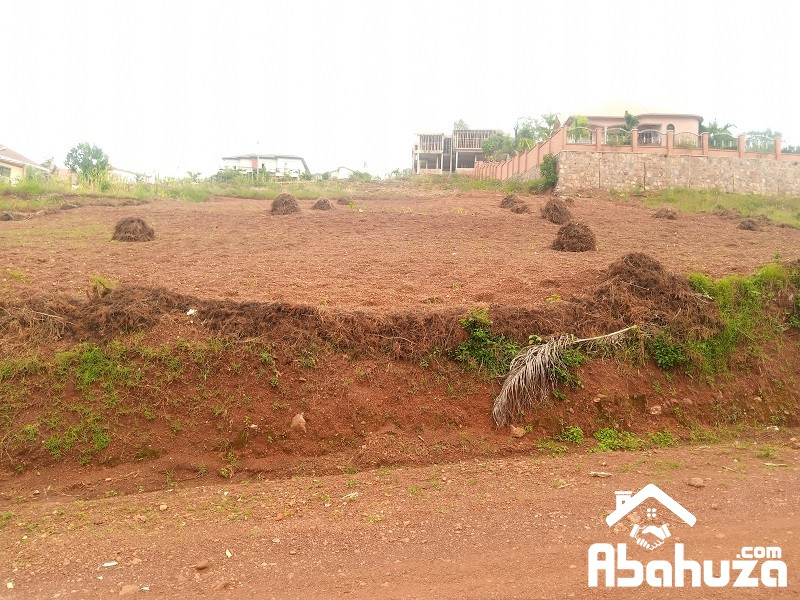 A RESIDENTIAL PLOT FOR SALE IN KIGALI AT REBERO