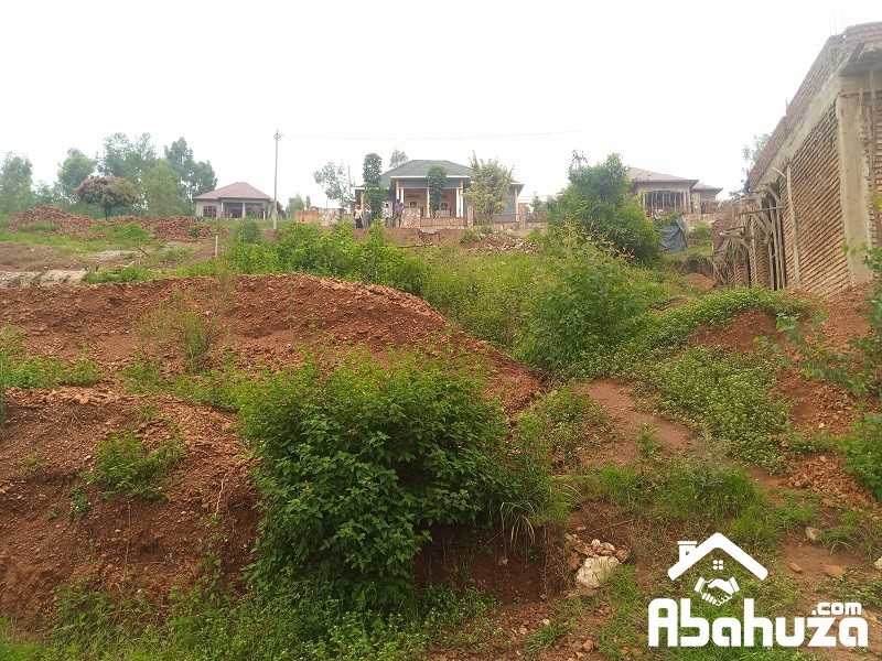 A RESIDENTIAL PLOT FOR SALE AT NYANZA- BISAMBU SITE