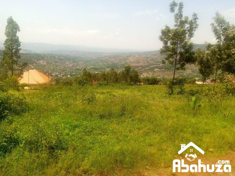 A RESIDENTIAL PLOT FOR SALE IN KIGALI AT BISAMBU