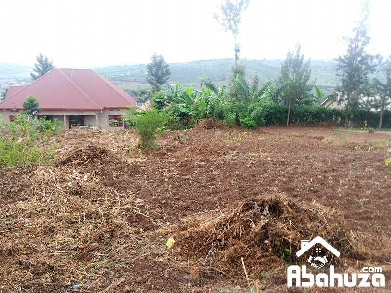 A RESIDENTIAL PLOT FOR SALE AT RUGENDE