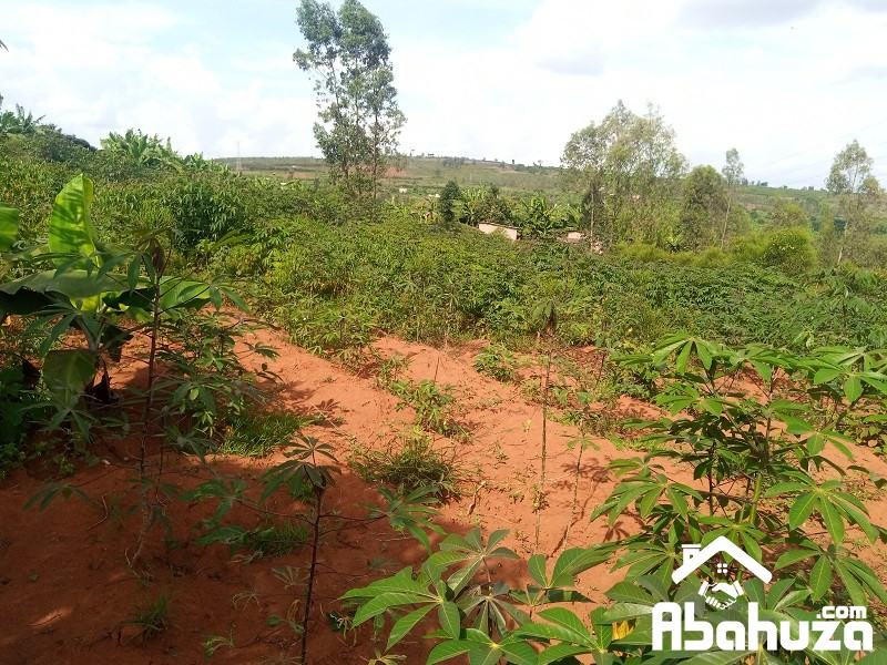 A RESIDENTIAL PLOT FOR SALE AT BUGESERA