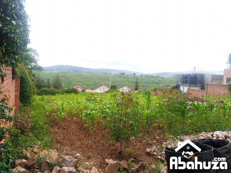 A BIG PLOT FOR SALE IN HIGH CLASS NEIGHBORHOOD AT GACURIRO