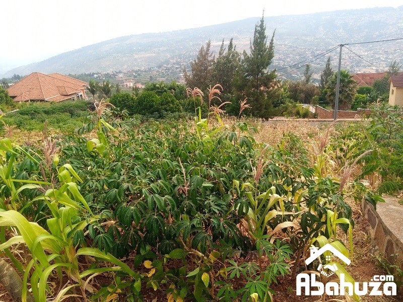 A NICE RESIDENTIAL PLOT FOR SALE IN KIGALI AT REBERO