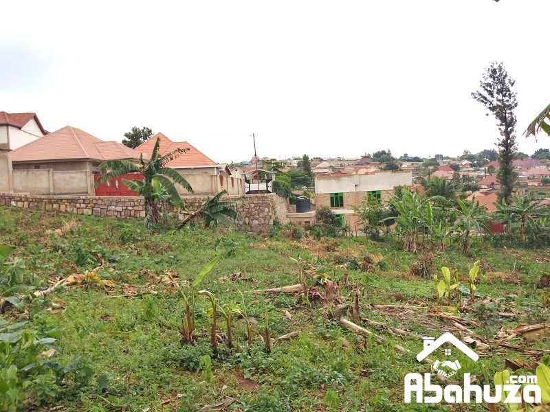 A WELL LOCATED PLOT FOR SALE IN KIGALI AT KANOMBE