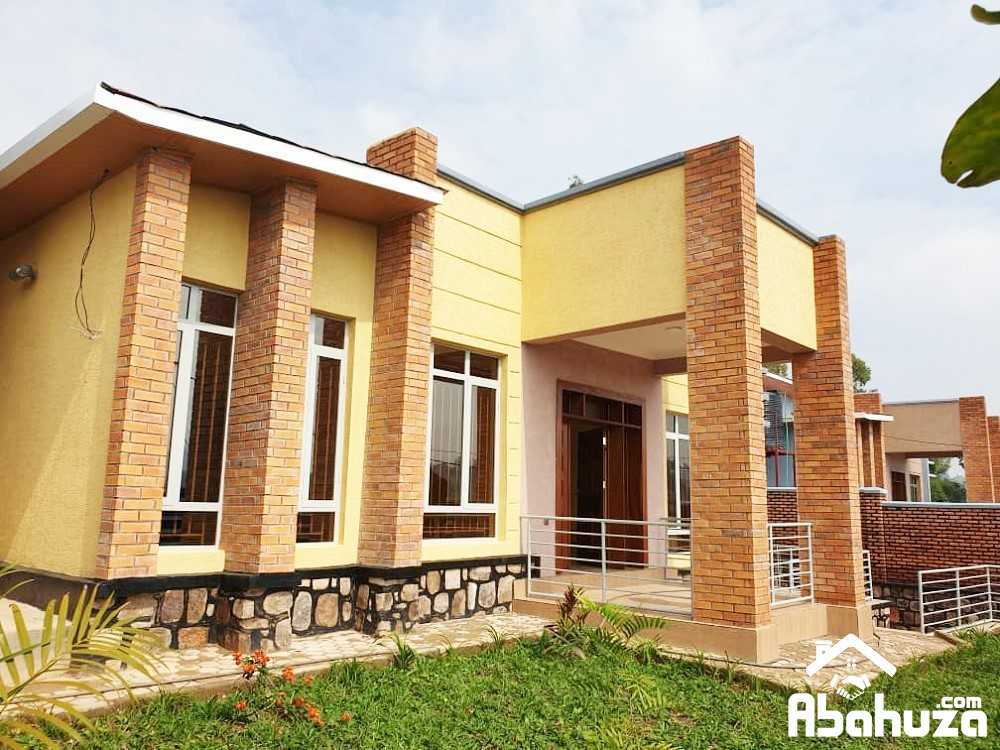 A NEW 4 BEDROOM HOUSE FOR RENT AT GACURIRO