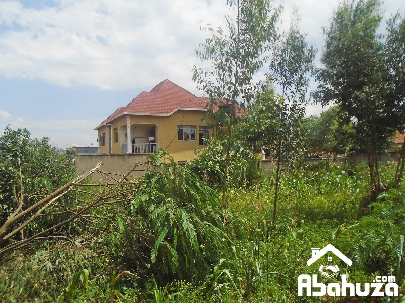 A NICE RESIDENTIAL PLOT FOR SALE IN KIGALI AT KAGARAMA