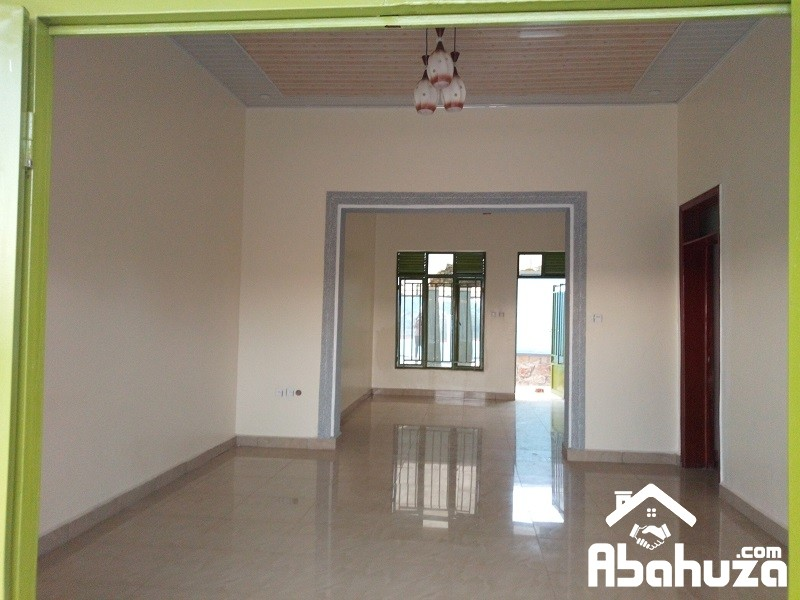 A NEW HOUSE WITH NICE FINISHING IN DEVELOPED SITE