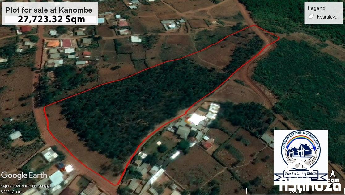 BIG RESIDENTIAL LAND FOR SALE AT KANOMBE